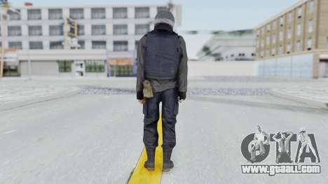 MGSV Phantom Pain Zero Risk Vest v2 for GTA San Andreas third screenshot