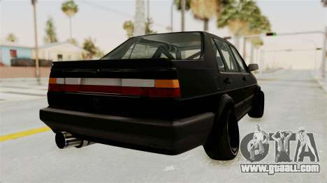 Volkswagen Jetta 2 for GTA San Andreas right view