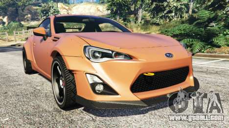 Subaru BRZ Rocket Bunny for GTA 5