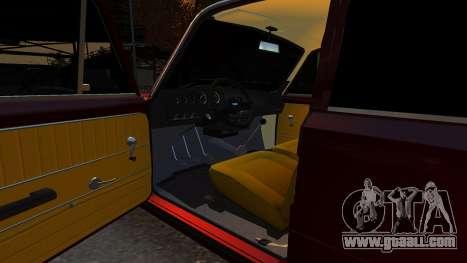 VAZ 21011 Style for GTA 4 inner view
