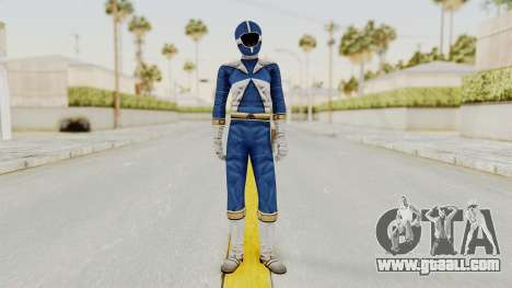 Power Rangers Lightspeed Rescue - Blue for GTA San Andreas second screenshot
