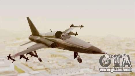 Northrop F-5E Tiger II JASDF for GTA San Andreas