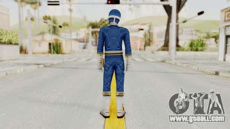 Power Rangers Lightspeed Rescue - Blue for GTA San Andreas third screenshot