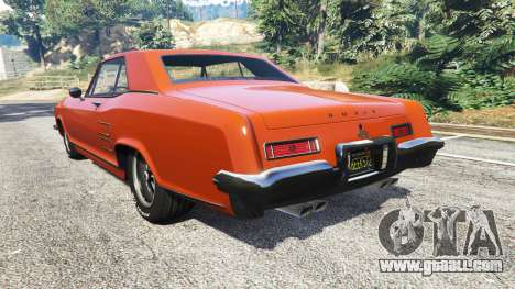 GTA 5 Buick Riviera 1963 rear left side view