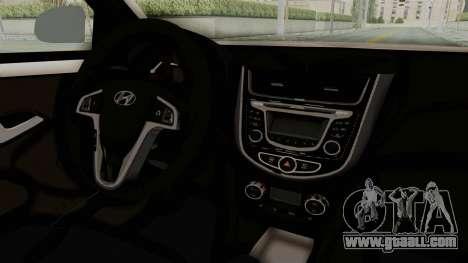 Hyundai Accent Era for GTA San Andreas inner view