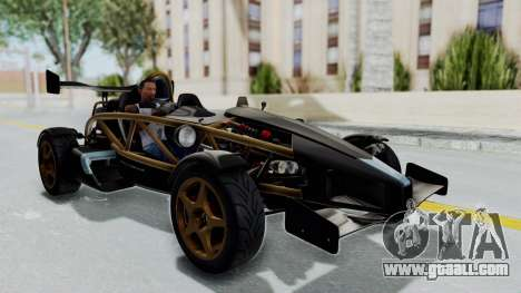 Ariel Atom 500 V8 for GTA San Andreas right view