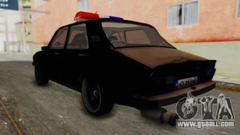 Dacia 1310 TX Turbo Police for GTA San Andreas left view