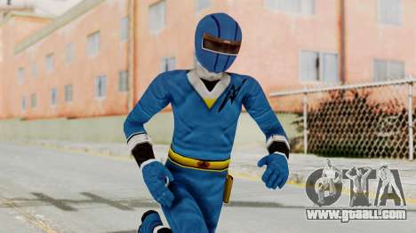 Alien Rangers - Blue for GTA San Andreas
