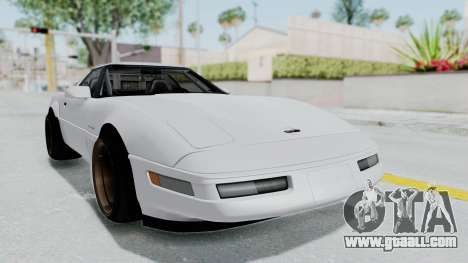 Chevrolet Corvette C4 Drift for GTA San Andreas back left view