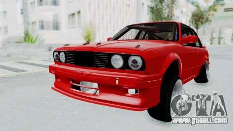BMW M3 E30 Rocket Bunny Drift Style for GTA San Andreas back left view