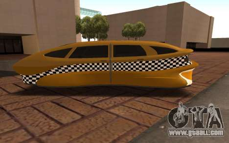 Flying Taxi for GTA San Andreas left view
