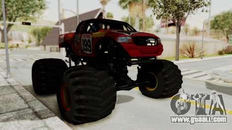 Pastrana 199 Monster Truck for GTA San Andreas