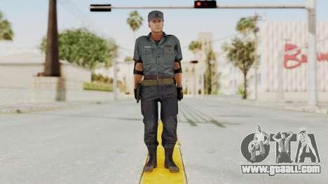 MGSV Phantom Pain Zero Risk Security Combat v2 for GTA San Andreas second screenshot
