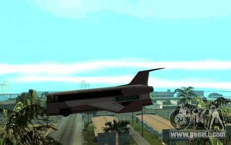 Sky Bus for GTA San Andreas left view