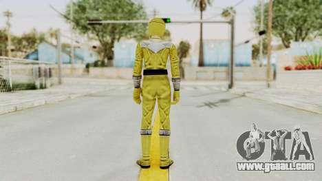 Power Rangers Time Force - Yellow for GTA San Andreas third screenshot