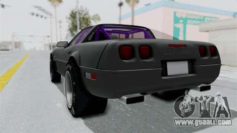 Chevrolet Corvette C4 Drag for GTA San Andreas left view