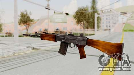 IOFB INSAS Detailed Orange Skin for GTA San Andreas second screenshot