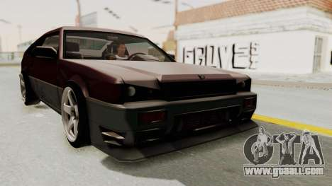 Blista CRX for GTA San Andreas right view