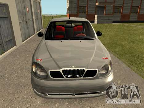 Daewoo Lanos (Sens) 2004 v2.0 by Greedy for GTA San Andreas left view