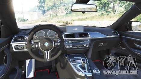 GTA 5 BMW M4 GTS rear right side view