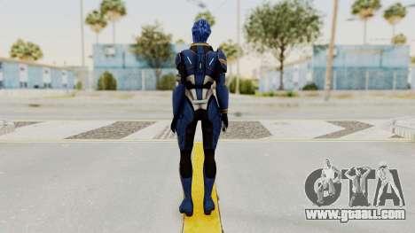Mass Effect 2 Tesla Vasir for GTA San Andreas third screenshot