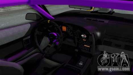 Chevrolet Corvette C4 Drag for GTA San Andreas inner view
