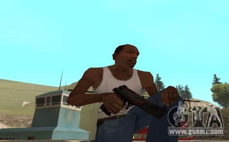 Redline weapon pack for GTA San Andreas