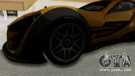 Felino CB7 for GTA San Andreas back view