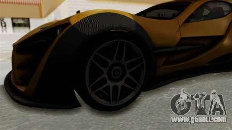 Felino CB7 for GTA San Andreas back view