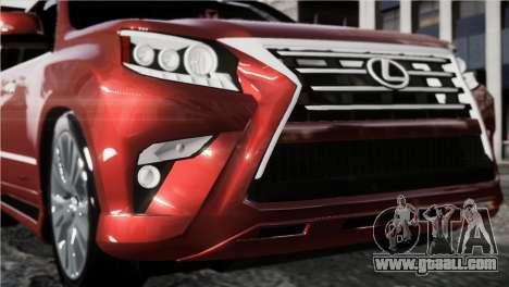 Lexsus GX460 for GTA 4 back left view