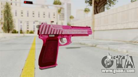 GTA 5 Pistol .50 Pink for GTA San Andreas third screenshot
