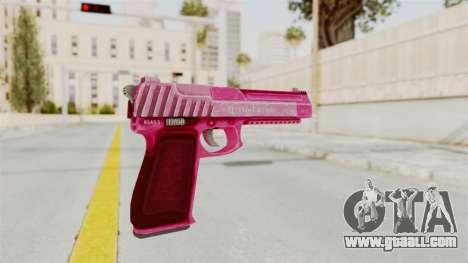 GTA 5 Pistol .50 Pink for GTA San Andreas third screenshot