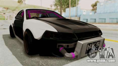 Ford Mustang 1999 Drift for GTA San Andreas right view