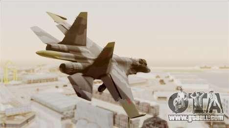 SU-27 Hydra for GTA San Andreas right view