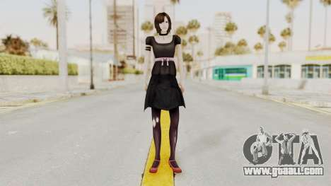 Madoka Tsukimori (Goth Version) for GTA San Andreas second screenshot