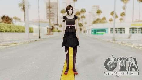 Madoka Tsukimori (Goth Version) for GTA San Andreas second screenshot
