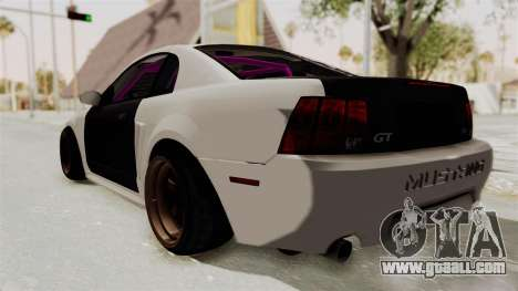 Ford Mustang 1999 Drift for GTA San Andreas left view