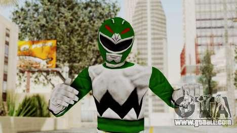 Power Rangers Lost Galaxy - Green for GTA San Andreas