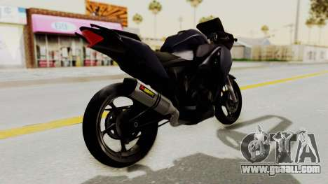 Honda CBR150i for GTA San Andreas right view