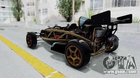 Ariel Atom 500 V8 for GTA San Andreas left view