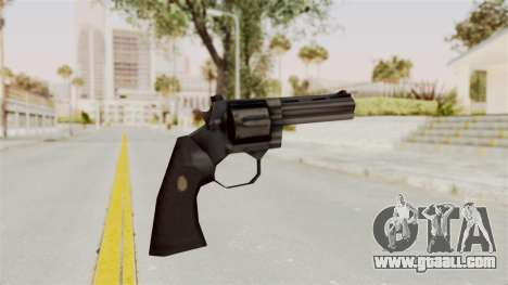 Liberty City Stories Colt Python for GTA San Andreas third screenshot