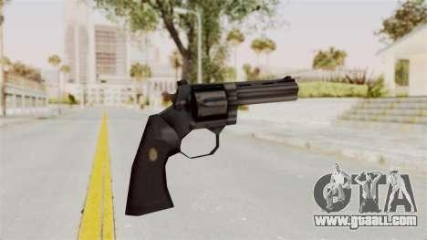 Liberty City Stories Colt Python for GTA San Andreas third screenshot