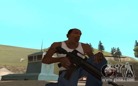 Redline weapon pack for GTA San Andreas third screenshot