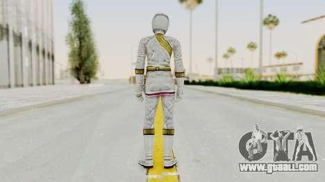 Power Rangers Wild Force - White for GTA San Andreas third screenshot