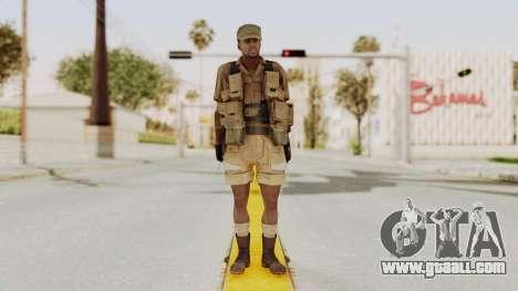 MGSV Phantom Pain CFA Combat Vest 2 v1 for GTA San Andreas