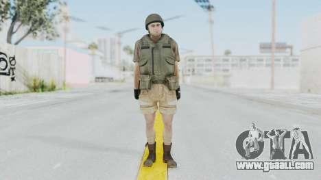MGSV Phantom Pain CFA Vest v2 for GTA San Andreas second screenshot