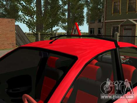Daewoo Lanos (Sens) 2004 v2.0 by Greedy for GTA San Andreas interior