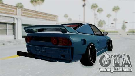 Nissan 180SX BETA for GTA San Andreas right view
