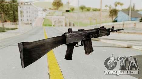 IOFB INSAS Detailed Black Skin for GTA San Andreas second screenshot