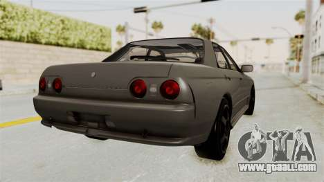 Nissan Skyline R32 4 Door for GTA San Andreas left view